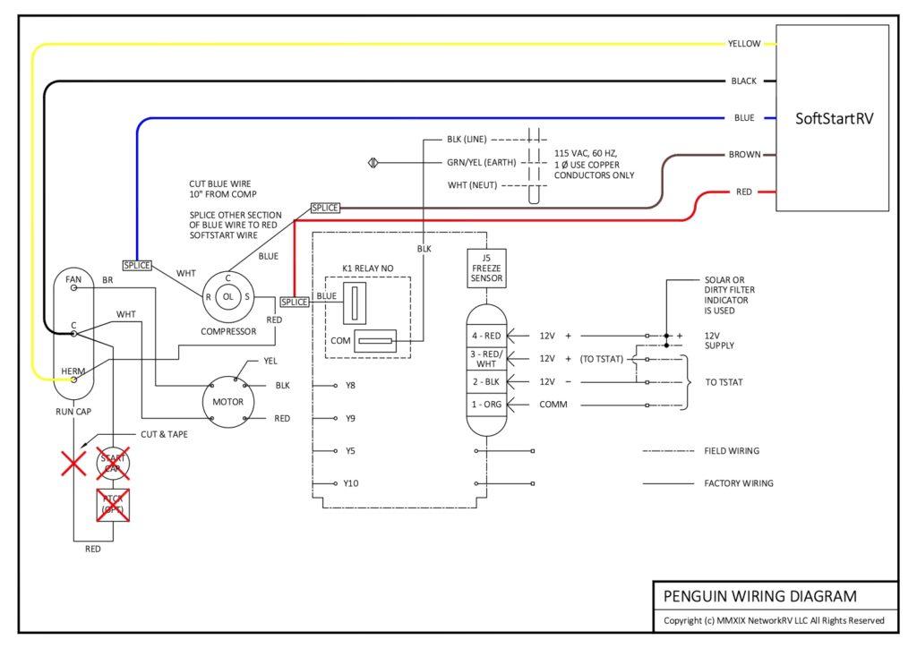 Soft Start for Dometic Penguin I & II air conditioner | SoftStartRVSoft Start For RV AC