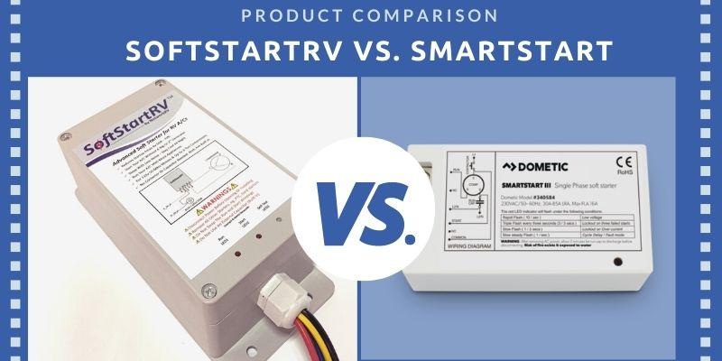 SoftStartRV vs. dometic smartstart soft starter comparison