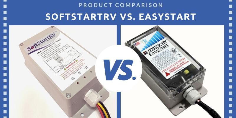 SoftStartRV vs. easystart soft starter comparison