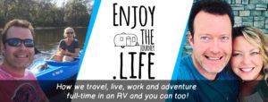 enjoy the life logo